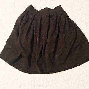 H&M A-line full skater skirt